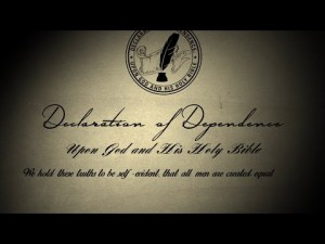 declaration of dependenct
